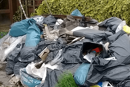 Domestic rubbish clearance services